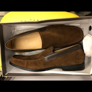 Rockport Suede loafers  Size 15